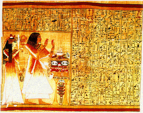 egyptian book of the dead spells